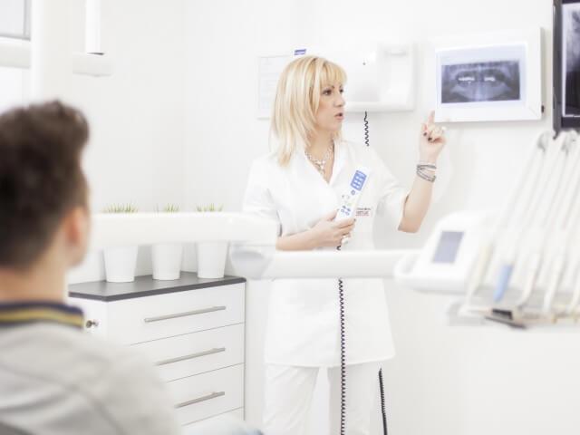 Dentista in Croazia dott.ssa Renata Ostojic in Zagabria